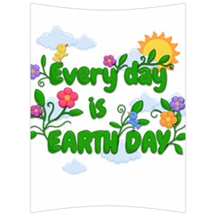 Earth Day Back Support Cushion
