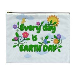 Earth Day Cosmetic Bag (xl)