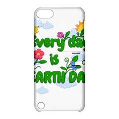 Earth Day Apple Ipod Touch 5 Hardshell Case With Stand by Valentinaart