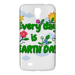 Earth Day Samsung Galaxy Mega 6 3  I9200 Hardshell Case by Valentinaart