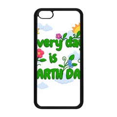 Earth Day Apple Iphone 5c Seamless Case (black) by Valentinaart