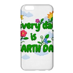 Earth Day Apple Iphone 6 Plus/6s Plus Hardshell Case by Valentinaart