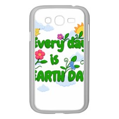 Earth Day Samsung Galaxy Grand Duos I9082 Case (white) by Valentinaart
