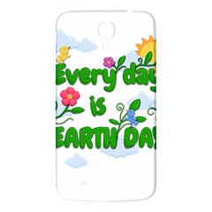 Earth Day Samsung Galaxy Mega I9200 Hardshell Back Case by Valentinaart