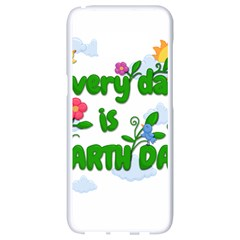 Earth Day Samsung Galaxy S8 White Seamless Case by Valentinaart