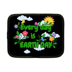 Earth Day Netbook Case (small)  by Valentinaart