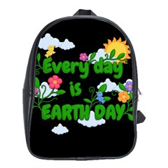 Earth Day School Bag (large) by Valentinaart