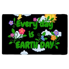 Earth Day Apple Ipad 2 Flip Case by Valentinaart