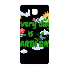 Earth Day Samsung Galaxy Alpha Hardshell Back Case by Valentinaart