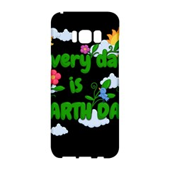 Earth Day Samsung Galaxy S8 Hardshell Case  by Valentinaart