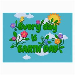 Earth Day Large Glasses Cloth