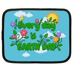 Earth Day Netbook Case (large)
