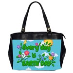 Earth day Office Handbags (2 Sides)  Front