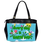 Earth day Office Handbags (2 Sides)  Back