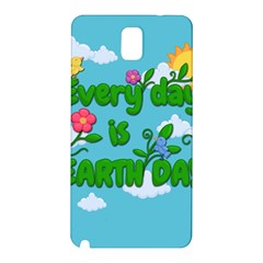 Earth Day Samsung Galaxy Note 3 N9005 Hardshell Back Case by Valentinaart