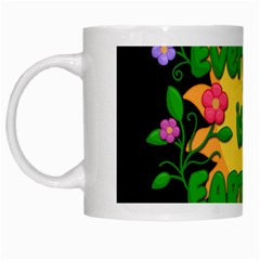 Earth Day White Mugs by Valentinaart