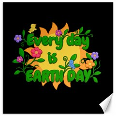 Earth Day Canvas 20  X 20   by Valentinaart