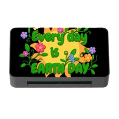 Earth Day Memory Card Reader With Cf by Valentinaart