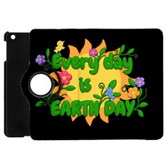 Earth Day Apple Ipad Mini Flip 360 Case by Valentinaart