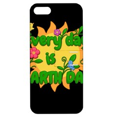 Earth Day Apple Iphone 5 Hardshell Case With Stand