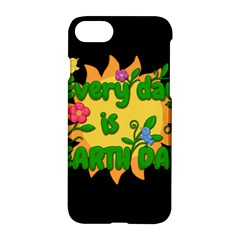 Earth Day Apple Iphone 7 Hardshell Case by Valentinaart