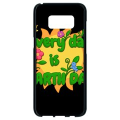 Earth Day Samsung Galaxy S8 Black Seamless Case by Valentinaart