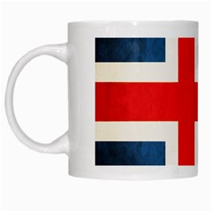Iceland Flag White Mugs by Valentinaart