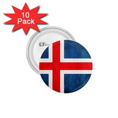 Iceland Flag 1 75  Buttons (10 Pack) by Valentinaart