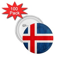 Iceland Flag 1 75  Buttons (100 Pack)  by Valentinaart