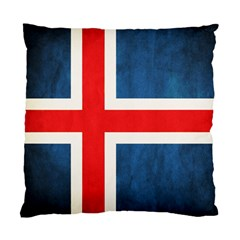 Iceland Flag Standard Cushion Case (two Sides) by Valentinaart