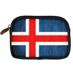 Iceland Flag Digital Camera Cases by Valentinaart