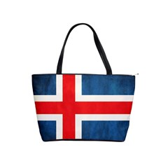 Iceland Flag Shoulder Handbags