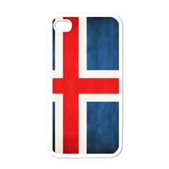 Iceland Flag Apple Iphone 4 Case (white) by Valentinaart