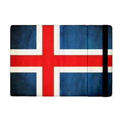 Iceland Flag Apple Ipad Mini Flip Case by Valentinaart