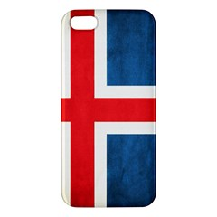 Iceland Flag Iphone 5s/ Se Premium Hardshell Case by Valentinaart