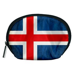 Iceland Flag Accessory Pouches (medium)  by Valentinaart