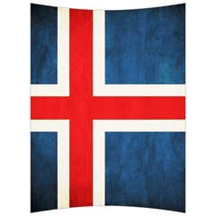 Iceland Flag Back Support Cushion by Valentinaart
