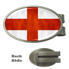 England Flag Money Clips (oval)  by Valentinaart