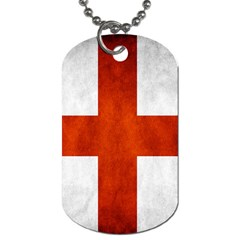 England Flag Dog Tag (one Side) by Valentinaart