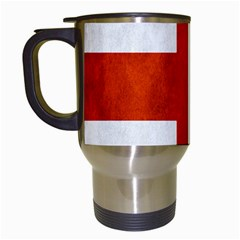 England Flag Travel Mugs (white) by Valentinaart