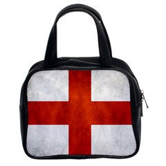England Flag Classic Handbags (2 Sides) by Valentinaart