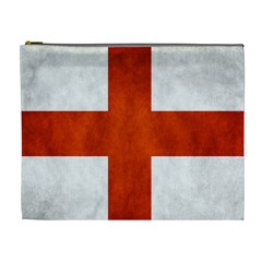 England Flag Cosmetic Bag (xl) by Valentinaart