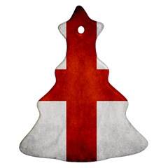 England Flag Christmas Tree Ornament (two Sides) by Valentinaart