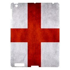 England Flag Apple Ipad 3/4 Hardshell Case by Valentinaart