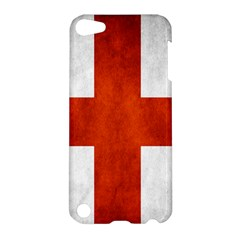 England Flag Apple Ipod Touch 5 Hardshell Case by Valentinaart