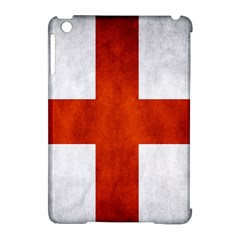 England Flag Apple Ipad Mini Hardshell Case (compatible With Smart Cover)