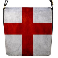 England Flag Flap Messenger Bag (s) by Valentinaart