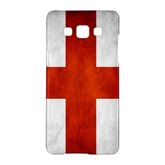 England Flag Samsung Galaxy A5 Hardshell Case  by Valentinaart