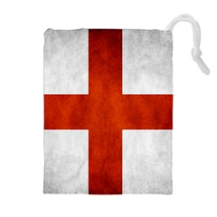 England Flag Drawstring Pouches (extra Large) by Valentinaart