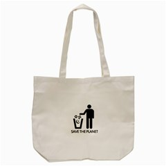 Save The Planet   Religions  Tote Bag (cream) by Valentinaart